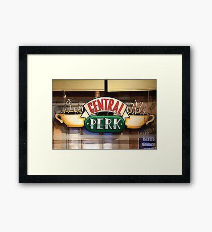 central perk cafe Framed Print