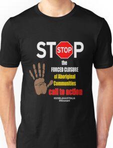 OFFICIAL MERCHANDISE - #SOSBLAKAUSTRALIA design 7 Unisex T-Shirt