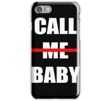 EXO chen Call me baby iPhone Case/Skin