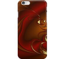 Latte Fractal iPhone Case/Skin