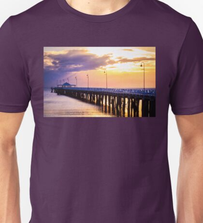 Pier in the Pink Unisex T-Shirt