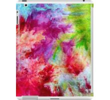 Vibrant ice dye splash iPad Case/Skin