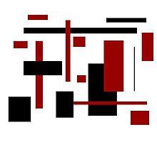 Rectangular Pattern 1  Photographic Print