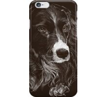 Black Collie Cross (phone case) iPhone Case/Skin