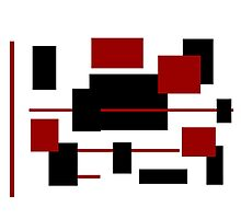 Rectangular Pattern 3  Photographic Print
