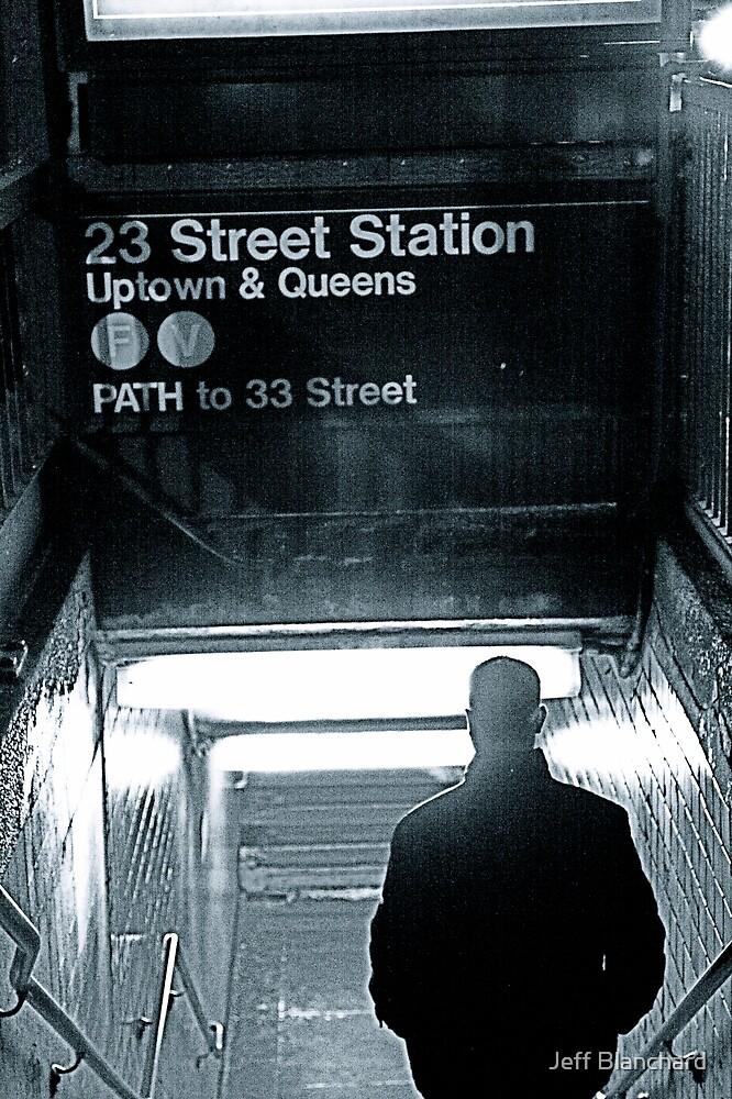 Subway Stranger by Jeff Blanchard