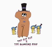 Top Hat Cat & The Dancing Fish by stoptime341