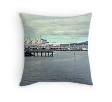 Pacific Sails Throw Pillow