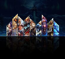 The Norse Gods of Smite by DJZander