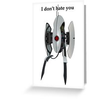 Turret Greeting Card
