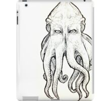 Elder God tentacled face iPad Case/Skin