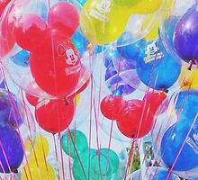 Disneyland Balloons #7 by disneylandaily