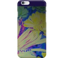 Floral Easter Card iPhone Case/Skin