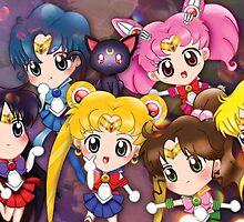 Sailor Assemble by tiranocyrus