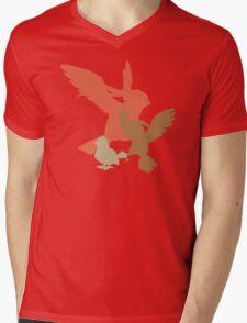 #16-18 Mens V-Neck T-Shirt