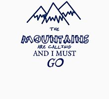 the mountains are calling and I must go Tank Top