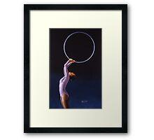 The Hoop Framed Print
