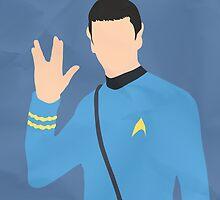 Spock (Simplistic) by Geoffery10