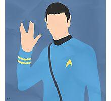 Spock (Simplistic) Photographic Print