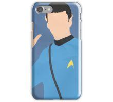 Spock (Simplistic) iPhone Case/Skin