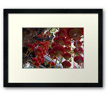 Lucky Red Framed Print