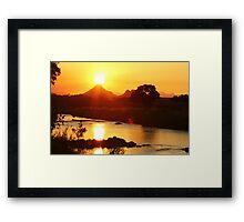 Sun kissed splendour Framed Print