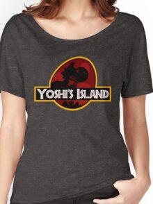 Yoshi's Island Jurassic Park Women's Relaxed Fit T-Shirt