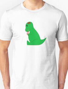 T-Rex Ice Cream Cone T-Shirt