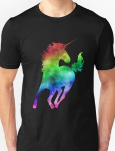 Rainbow Galaxy Unicorn Unisex T-Shirt