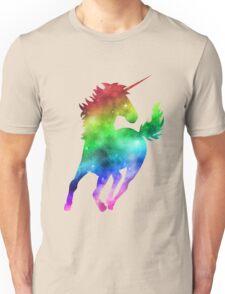 Rainbow Galaxy Unicorn Unisex T-Shirt