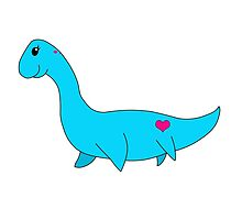 My Little Plesiosaurus by luvandmonsters