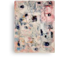 Blue Bobble Canvas Print