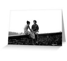 Young Romance Greeting Card