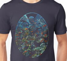 Abstract Ocean Waves Unisex T-Shirt