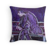 A man taken ill  Throw Pillow