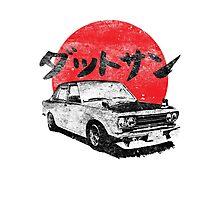 Datsun 510 Japanese Photographic Print