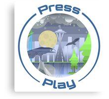 Press Play Radio Season 1 pt.1 Canvas Print