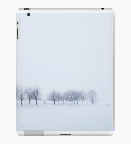 Snowstorm Trees iPad Case/Skin