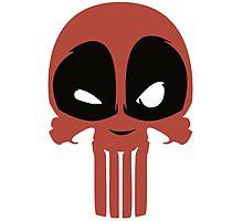 dead pun logo Photographic Print