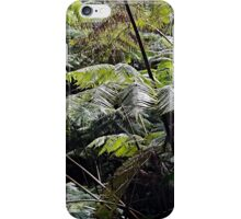 Tropical Fern Forest 03 iPhone Case/Skin