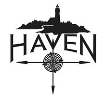 Custom Purple Haven Black Logo by HavenDesign