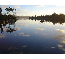 Early morning on the Prosser River at Orford Photographic Print