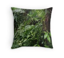Tropical Forest 07 Throw Pillow