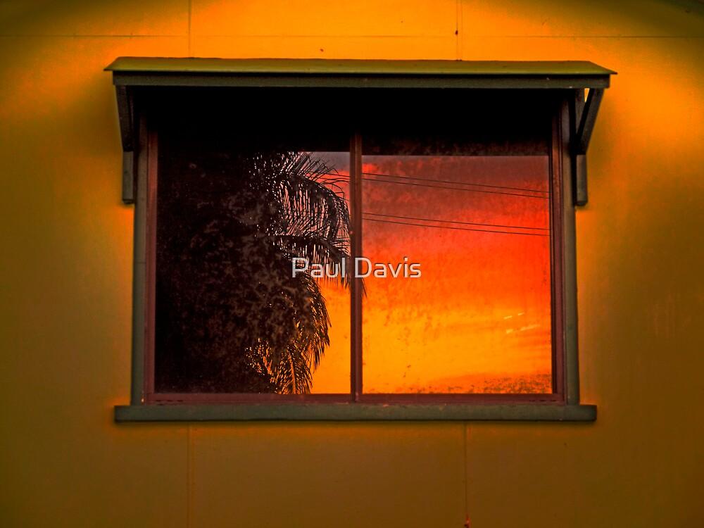 Bleeding Heart Sunrise by Paul Davis