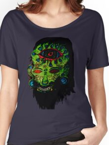 Psychedelic Third Eyed Jesus Women's Relaxed Fit T-Shirt