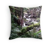 Tropical Forest 09 Throw Pillow
