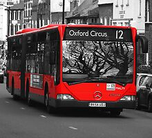 Bendy Bus London by Colin  Williams Photography