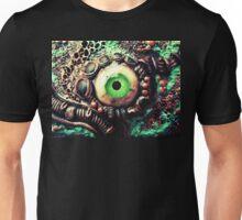 Copper biomech eye Unisex T-Shirt