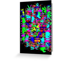 Jungle Drums Greeting Card