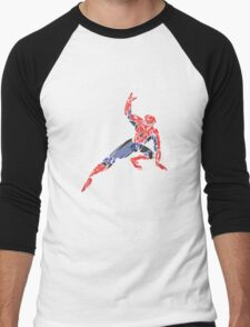 Spiderman Men's Baseball ¾ T-Shirt